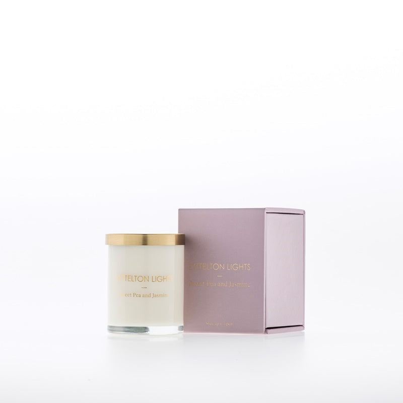 Lyttelton Lights - Small Candle - Sweet Pea & Jasmine