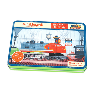 Mudpuppy - All Aboard Magnetic Building Set