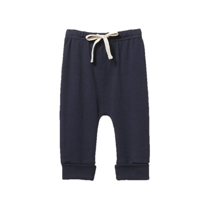 Nature Baby - Drawstring Pants - Navy