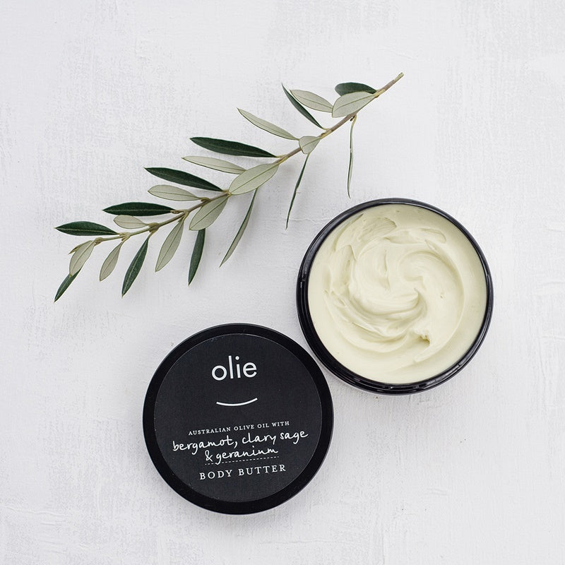 Olieve & Olie - Body Butter - Bergamot, Clary Sage, Lavender and Geranium