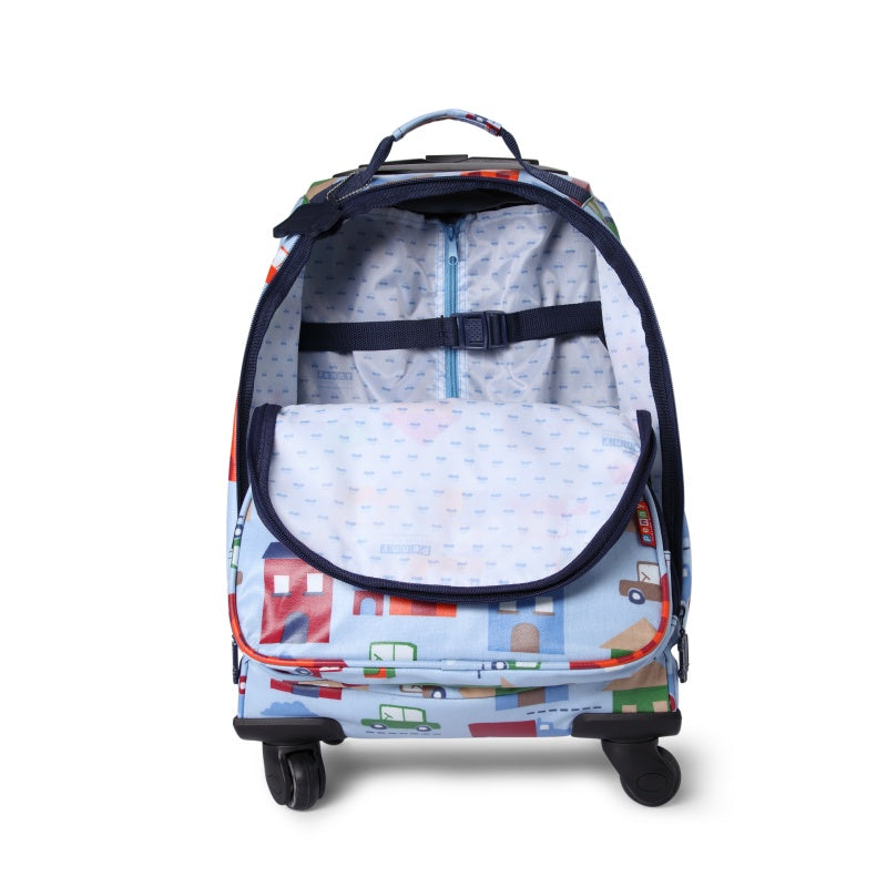 Penny Scallan 4 Wheel Spinner in Big City Print