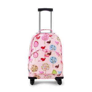 Penny Scallan 4 Wheel Spinner in Chirpy Bird Print