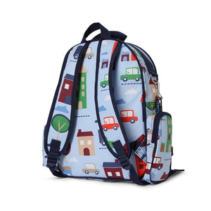 Penny Scallan Large Backpack in Big City Print