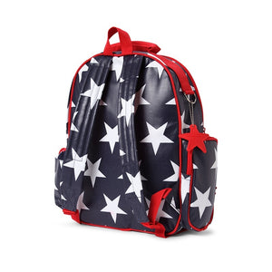 Penny Scallan Large Backpack in Navy Star Print