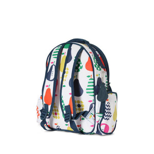 Penny Scallan Large Backpack in Pear Salad Print