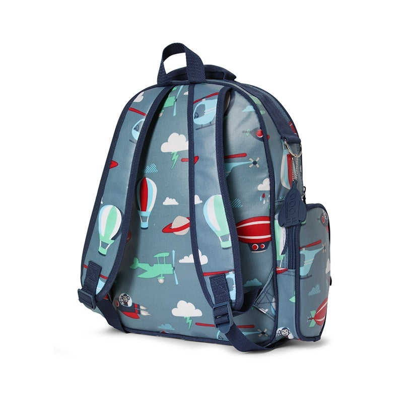 Penny Scallan Large Backpack in Space Monkey Print