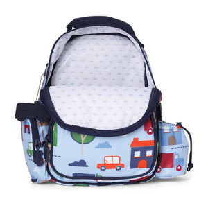 Penny Scallan Medium Backpack in Big City Print
