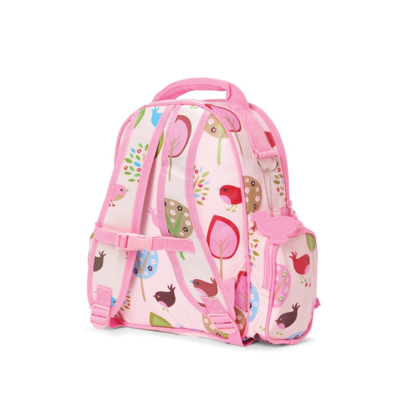 Penny Scallan Medium Backpack in Chirpy Bird Print