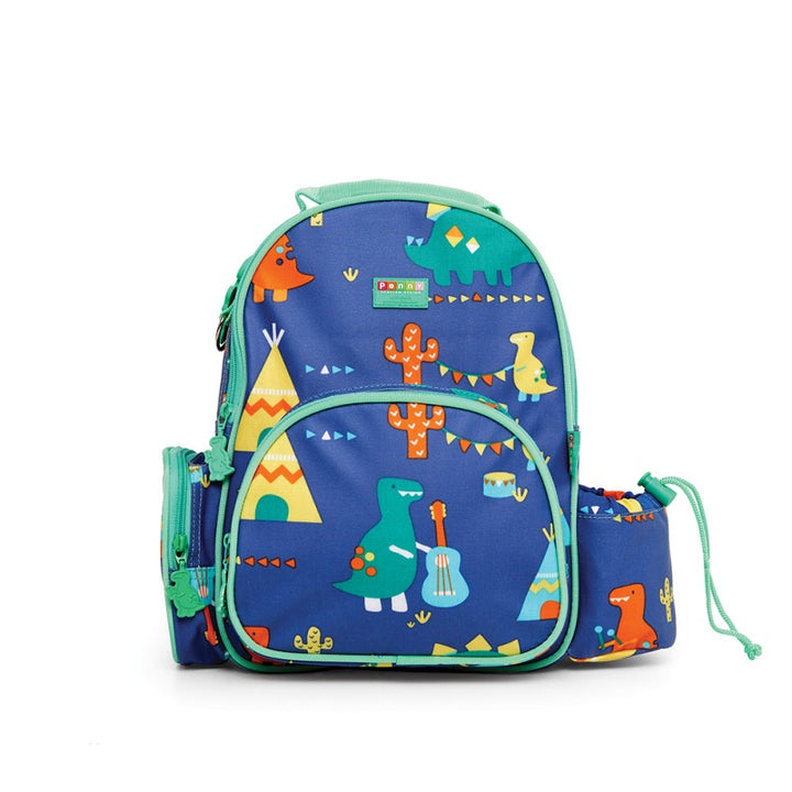 Penny Scallan Medium Backpack in Dino Rock Print