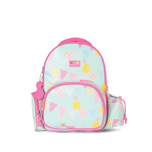 Penny Scallan Medium Backpack in Pineapple Bunting Print