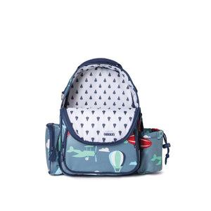 Penny Scallan Medium Backpack in Space Monkey Print