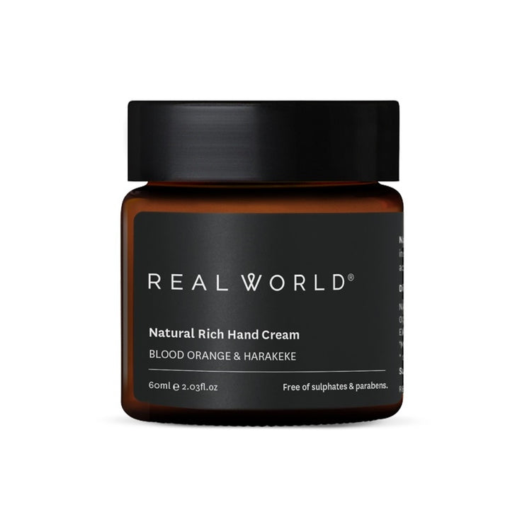Real World - Blood Orange Harakeke Hand Cream