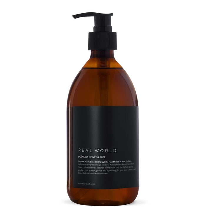 Real World - Manuka Honey Rose Hand Wash