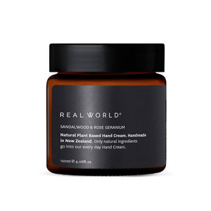 Real World - Sandalwood Rose Geranium Hand Cream
