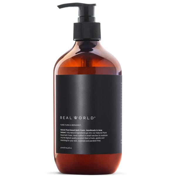 Real World - Ylang Ylang Bergamot Bath Foam