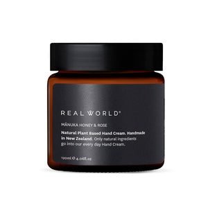 Real World - Manuka Honey Rose Hand Cream
