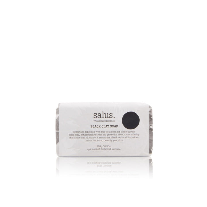 Salus Body Black Clay Soap in 180g