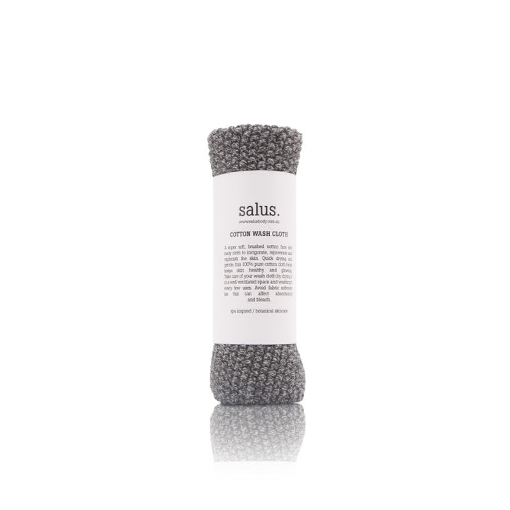 Salus Body Cotton Wash Cloth in Marle