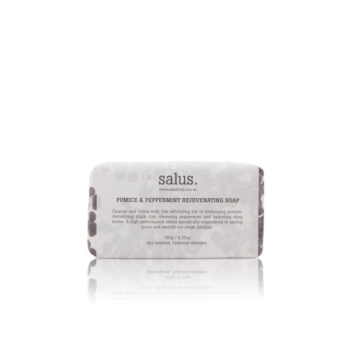 Salus Body Pumice Peppermint Rejuvenating Soap in 180g