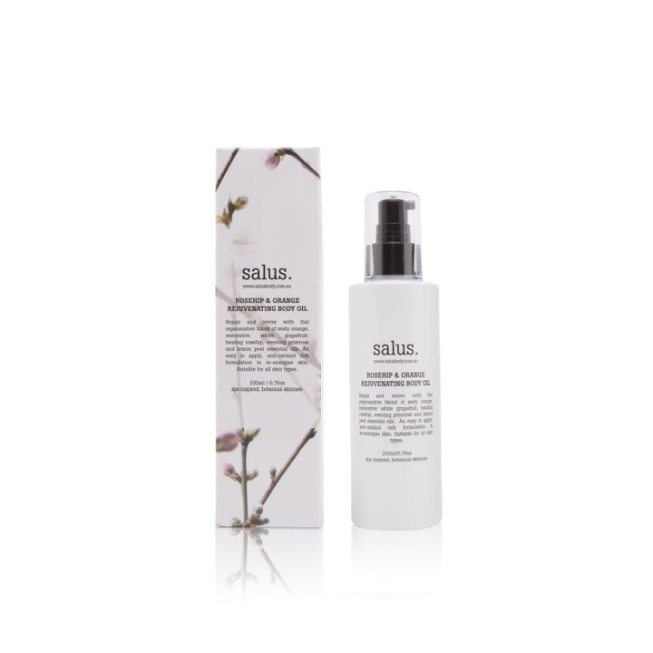 Salus Body Rosehip Orange Rejuvenating Body Oil in 200ml
