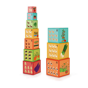 Scratch - Stacking Tower Jumbo Farm