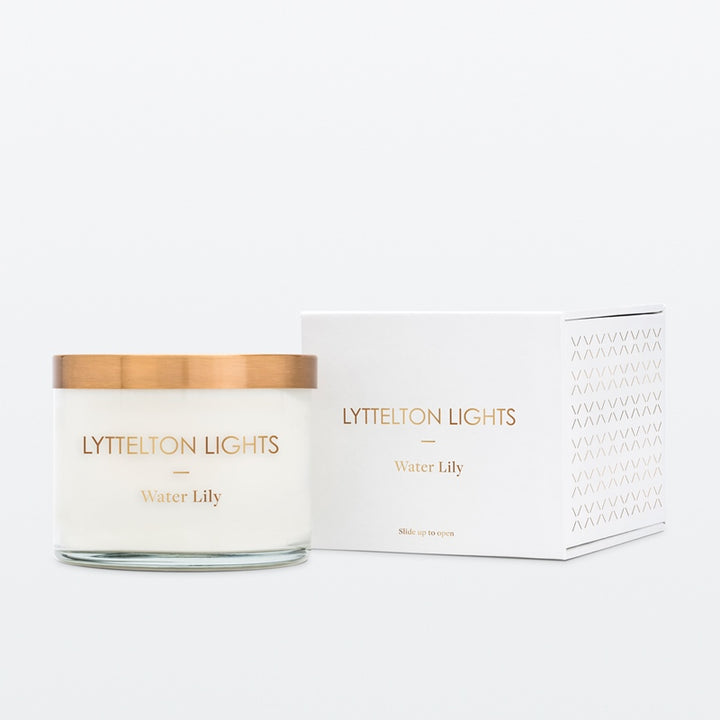 Lyttelton Lights Medium Candle Water Lily