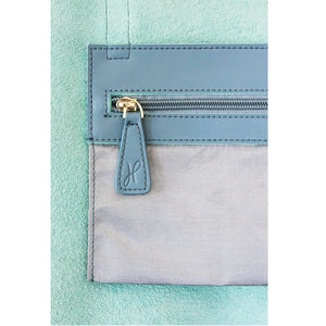 Hoopla - Small Zip Tote - Blue Grey