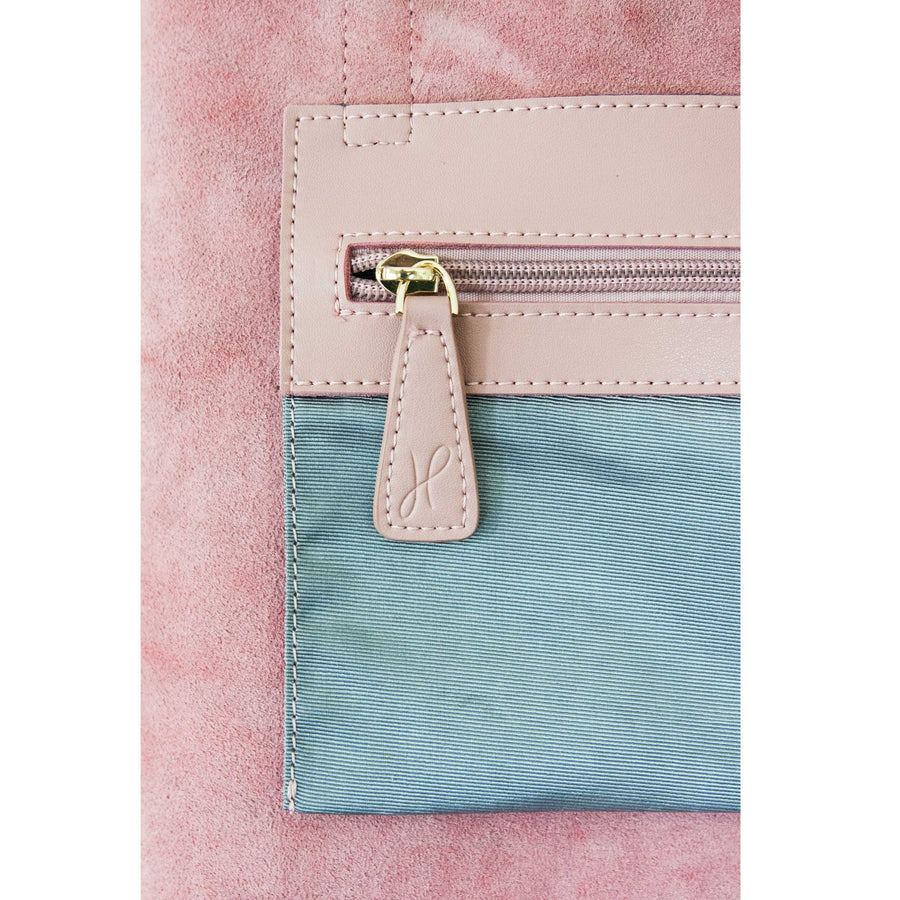 Hoopla - Small Zip Tote - Dusty Pink