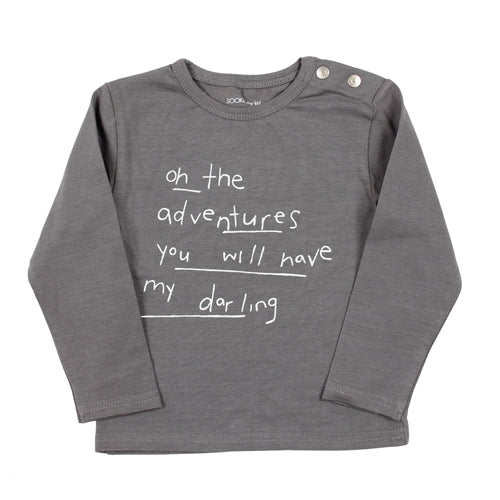 Sooki Baby - Adventure Long Sleeve Tee - Grey