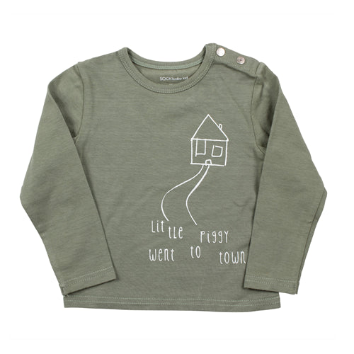 Sooki Baby - Little Piggy Long Sleeve Tee