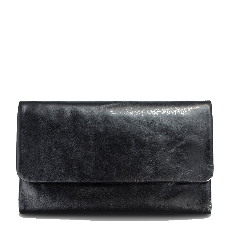 Status Anxiety Audrey Wallet in Black