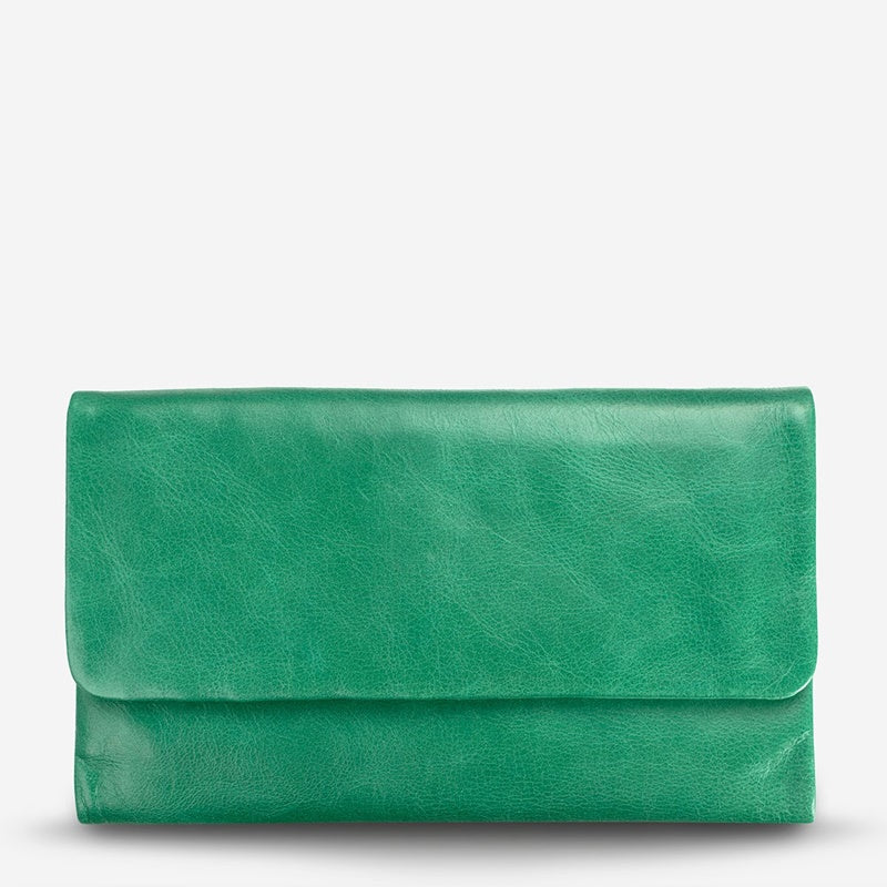Status Anxiety Audrey Wallet in Emerald