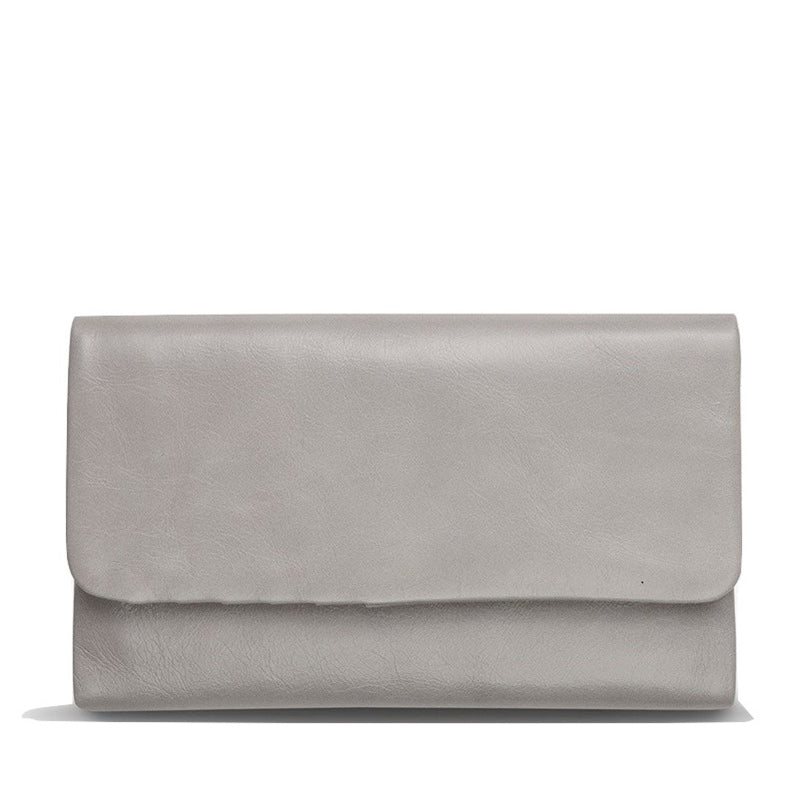 Status Anxiety Audrey Wallet in Light Grey