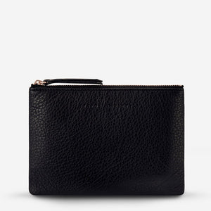 Status Anxiety Treacherous Pouch in Black