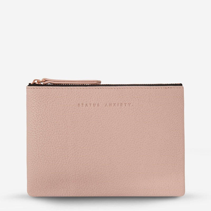 Status Anxiety Treacherous Pouch in Dusky Pink