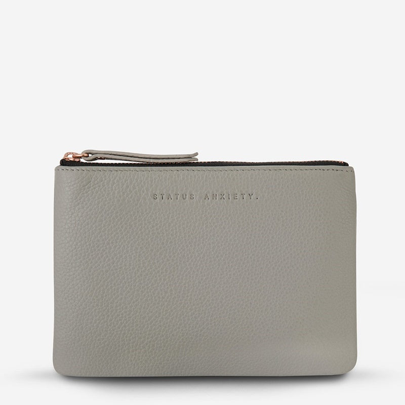 Status Anxiety Treacherous Pouch in Light Grey