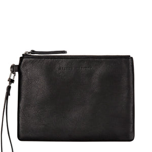 Status Anxiety Fixation Wallet in Black