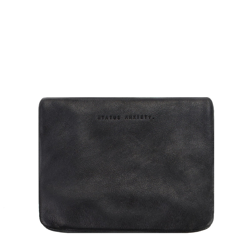 Status Anxiety Wallet Norma in Black Back