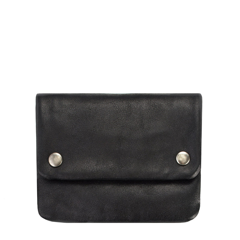 Status Anxiety Wallet Norma in Black Front