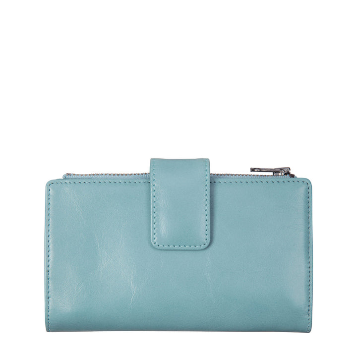 Status Anxiety Outsider Wallet in Sky Blue