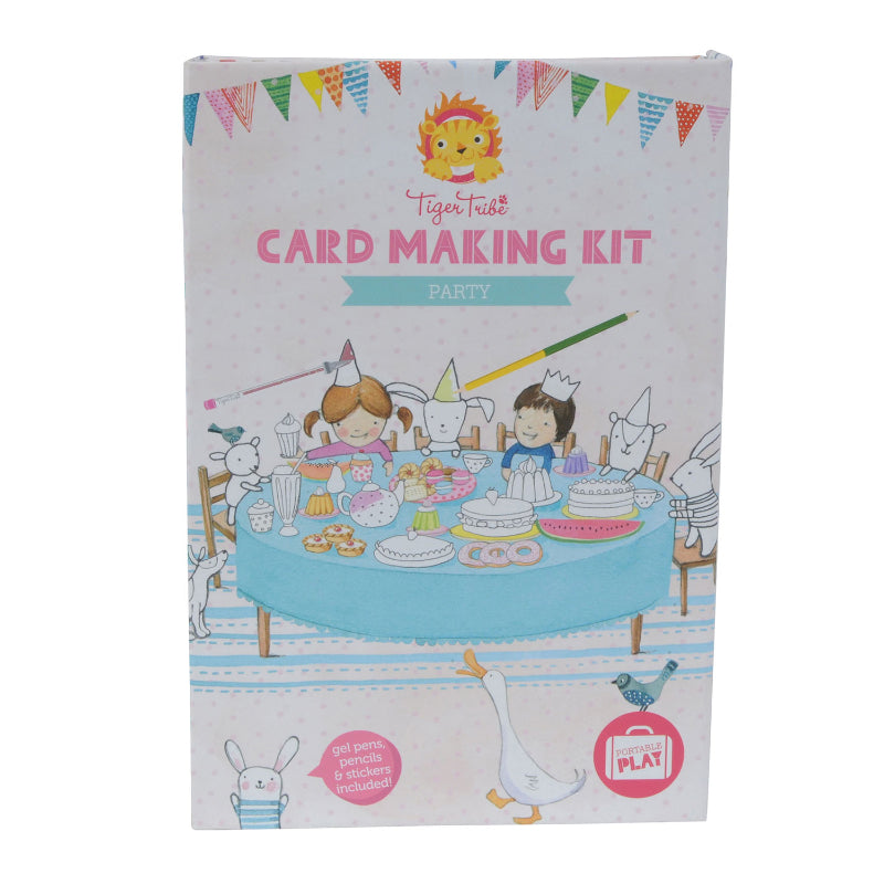 Tiger Tribe Card Making Kit Party
