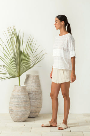 Bird & Kite - Bronte Top - Ivory