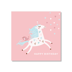 Just Smitten Mini Gift Card - Pretty Unicorn