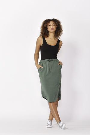 Betty Basics - Carson Skirt - Forest