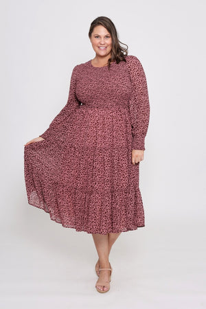 Leoni Curve - Zarel Dress - Leopard