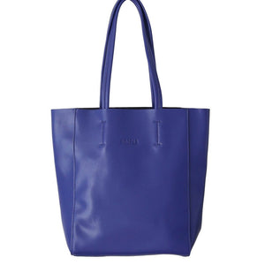 Hoopla - Large Portrait Tote - Blue