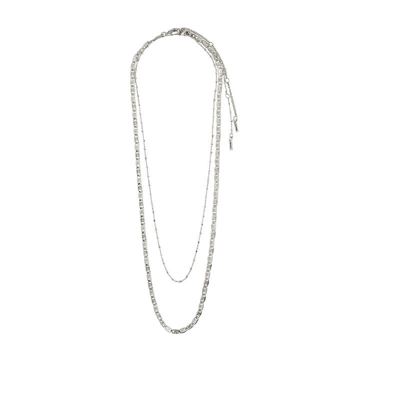 Pilgrim - Intuition Necklace - Silver Plated