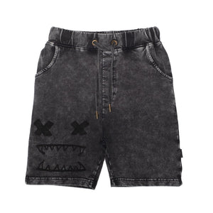 Band of Boys - Bandits Shorts Cross Eyes - Vintage Black