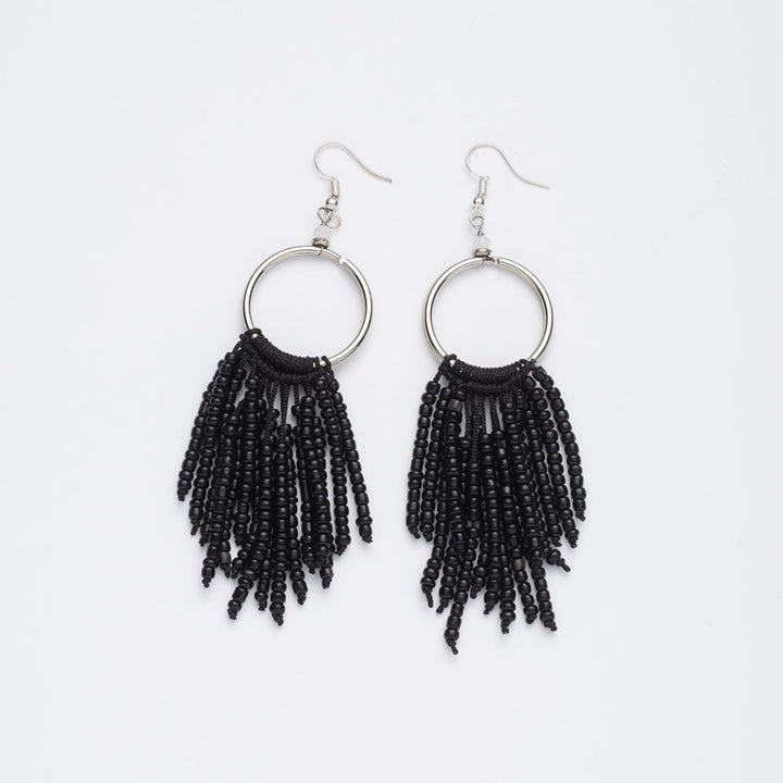 Stilen - Maya Black Earrings