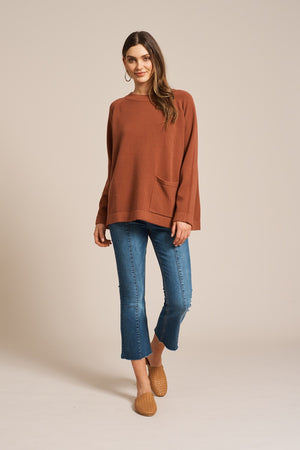 Eb & Ive - Ita Knit - Terracotta